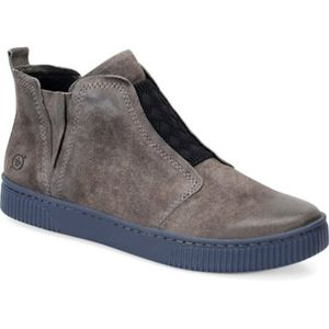 Born Rorey Suede Slip On Ankle Boots
